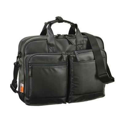 マグナム MAGNUM ビジネスバッグ メンズ 26641-1H PVCコート 2Pビジネスシリーズ ブラック
