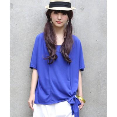 osharewalker / 『裾リボンデザインカットソー』 WOMEN トップス > Tシャツ/カットソー