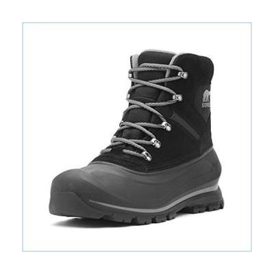 Sorel Men's Buxton LACE Snow Boot, Black, Quarry, 12 D US並行輸入品
