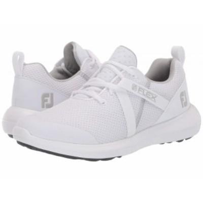 FootJoy フットジョイ レディース 女性用 シューズ 靴 スニーカー 運動靴 FJ Flex White【送料無料】