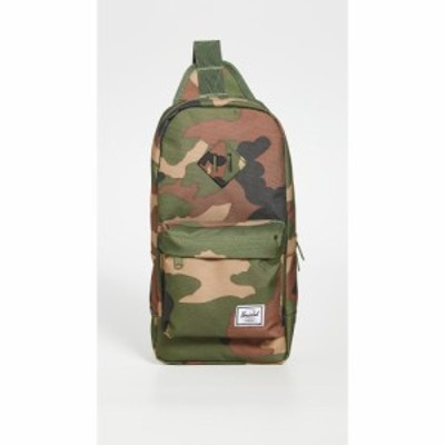 ハーシェル サプライ Herschel Supply Co. メンズ ショルダーバッグ バッグ Heritage Shoulder Bag Woodland Camo