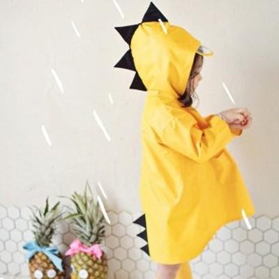 レインコート キッズ おしゃれ 男の子 女の子 かわいい 子供 50 60 70 80 90 100 110 120 130 140cm カッパ雨具 台風 通園 通学 雨