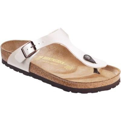 ビルケンシュトック Birkenstock レディース サンダル・ミュール シューズ・靴 Gizeh Sandals White