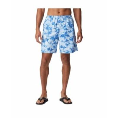 コロンビア メンズ ハーフパンツ・ショーツ ボトムス Men's PFG Super Backcast Water Short Harbor Blue Martini Marlin