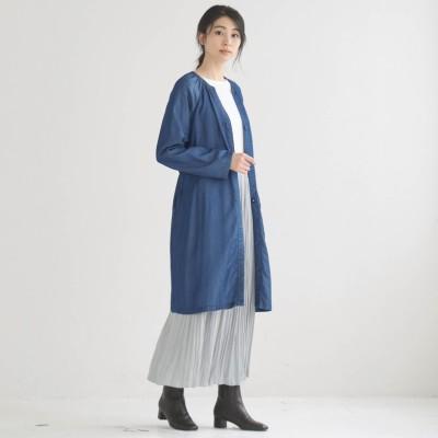 大人カジュアルに着られるデニムコート(la*fite/ラ・フィット)