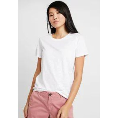 GAP レディーストップス GAP SLUB SLIM - Basic T-shirt - white white