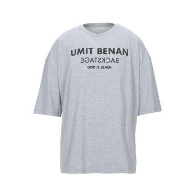UMIT BENAN T シャツ グレー 50 コットン 100% T シャツ