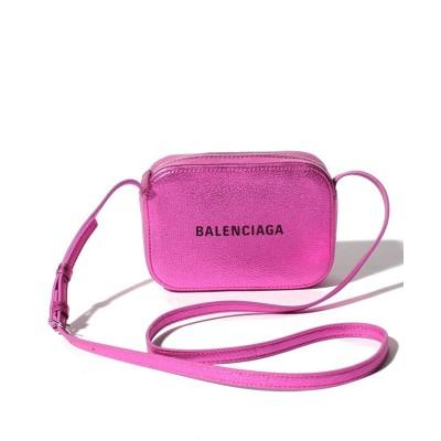 【バレンシアガ】 ショルダーバッグ/EVERYDAY CAMERA BAG XS METALLI レディース ピンク F BALENCIAGA