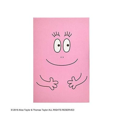 バーバパパ 御朱印帳 ピンク&ブラック ST-TBP0003