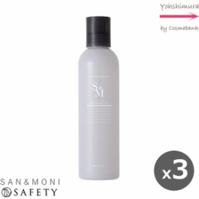 【x3点】セフティ サンモニ スキャルプケアシャンプー V 250mL【ボリュームアップ】シトラスラベンダーの香り|SAN&MONI