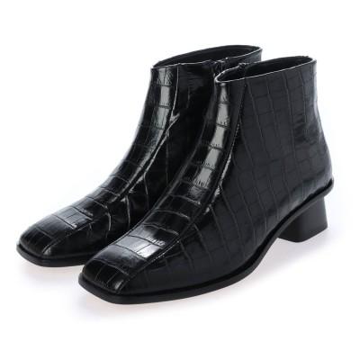 ペリーコ サニー PELLICO SUNNY スクエアトゥショートブーツ PF20-0242(BLACK)