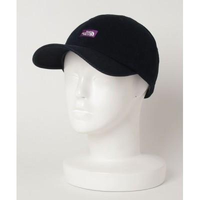 atmos pink / THE NORTH FACE 《PURPLE LABEL》 ザ・ノース・フェイス パープルレーベル ピケ デニム フィルド キャップ PIQUE DENIM FIELD CAP (INDIGO BLEACH) MEN 帽子 > キャップ