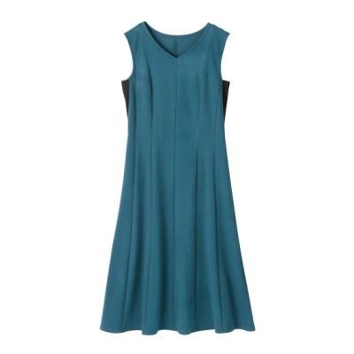 大きいサイズ すっきり見え綿混カットソーワンピース ,スマイルランド, ワンピース, plus size dress