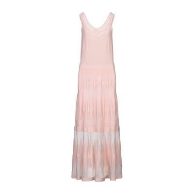 D.EXTERIOR ロングワンピース&ドレス ライトピンク M レーヨン 78% / ナイロン 22% ロングワンピース&ドレス