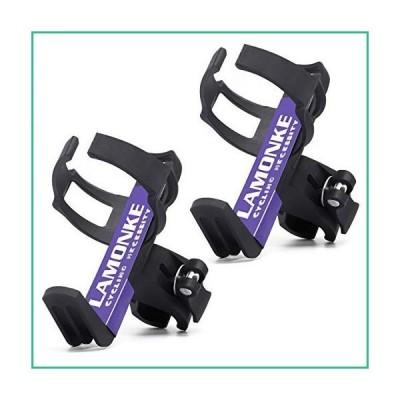 送料無料!LAMONKE バイクウォーターボトル MTBバイク ベビーカー用 360度調節可能 回転 自転車 ウォーター