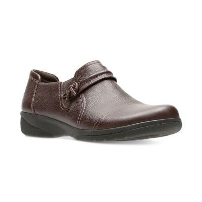クラークス サンダル シューズ レディース Collection Women's Cheyn Madi Flats Dark Brown