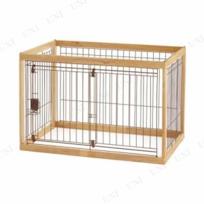 【取寄品】 リッチェル 木製ペットサークル90-60  ナチュラル 犬用品 ペット用品 ペットグッズ イヌ 中型犬用