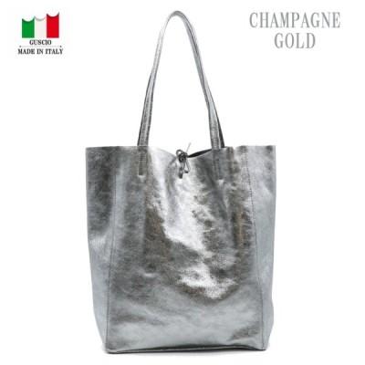 GUSCIO グッシオ 77-0134-2 トートバッグ 軽量 柔らかい一枚革 イタリア製