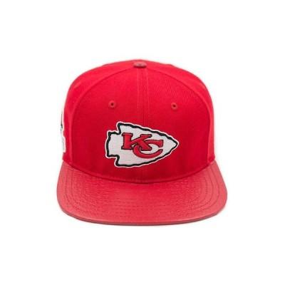 帽子 プロ スタンダード Pro Standard Men's NFL Kansas City Chiefs Logo Buckle Hat W/ Pins Red Football