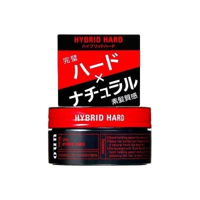 資生堂 ウーノ ハイブリッドハード 80g uno