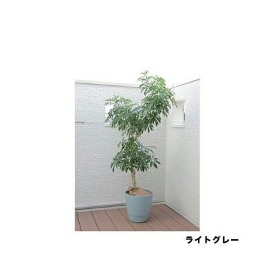 アトリエポット 30型|ライトグレー|アップルウェアー|園芸用品・ガーデニング用品 鉢