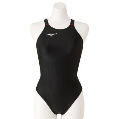競泳用ハイカット(レースオープンバック)(レディース) MIZUNO ミズノ スイム 競泳水着 STREAM ACE レースオープンバック (N2MA0222)