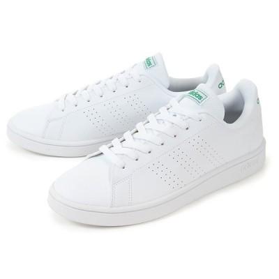 adidas(アディダス) ADVANCOURT BASE(アドバンコート ベース) EE7690 ホワイト/グリーン SALE!! 交換返品ラッピング不可