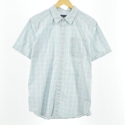 パタゴニア 半袖 ポリコットンシャツ メンズM /eaa045497