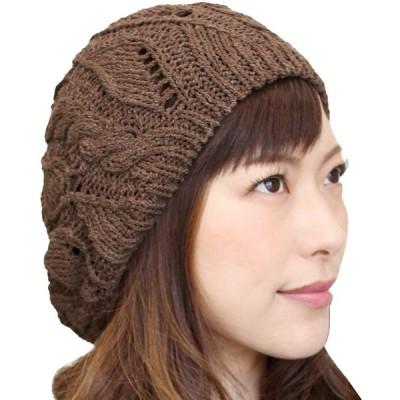 ベレー帽 レディース コットン 綿100% 大きめ ゆったり ニットベレー サマーベレー 秋 春 夏 おしゃれ 可愛い 涼しい 通気性 清涼 シンプル