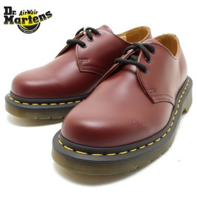 Dr.Martens ドクターマーチン 1461 3EYE GIBSON SHOES 10085600 CHERRYRED 短靴/Dr.Martens/定番