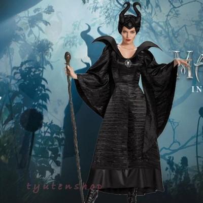 ハロウィン ホラー 魔女 コスプレ 仮装 レディース 大人用 呪い 悪魔 魔女 コスチューム cosplay 舞台劇 演出 イベント パーティー Halloween 衣装 変装