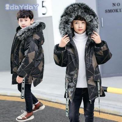 韓国子供服コート 秋冬 男の子 中綿ジャケット フードつき 防寒 コートアウター  厚手 かっこいい  暖かい かわいい キッズコート 綿入れコート
