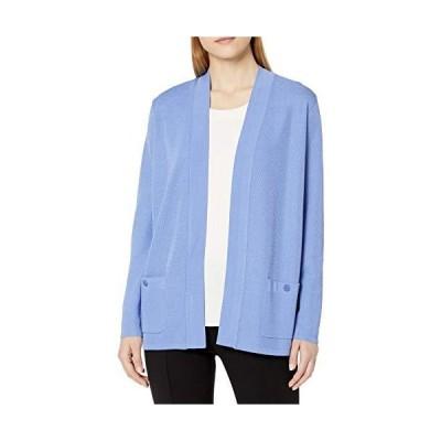 並行輸入品Anne Klein レディース マリブ カーディガン US サイズ: Medium カラー: ブルー