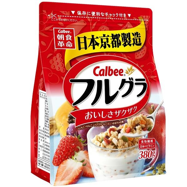 卡樂比富果樂水果麥片380g
