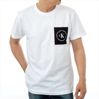 カルバンクライン Calvin Klein J30J314761YAF Tシャツ ティーシャツ 半袖 クルーネック メンズ