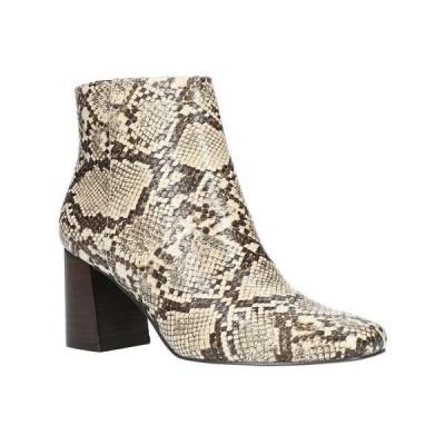 ベラヴィータ ブーツ&レインブーツ シューズ レディース Square Toe Ankle Boots Taupe Snake