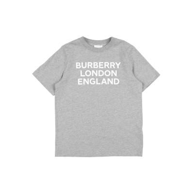 BURBERRY T シャツ ライトグレー 10 コットン 100% / ポリウレタン T シャツ