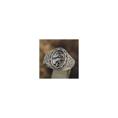 指輪 メンズ ココペリ シルバー925 リング メンズ シルバーリング シルバーアクセサリー fr0419