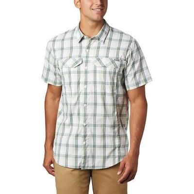(取寄)コロンビア メンズ シルバー リッジ ライト プレイド ショートスリーブ シャツ Columbia Men's Silver Ridge Lite Plaid SS Shirt Cane Grid Plaid