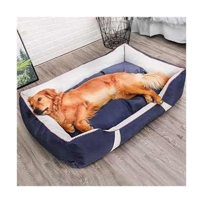 zyhappy Large and Medium Sized pet Dog's Kennel, Removable and Washable, Waterproof, Biting and Sleeping Dog Bed並行輸入品