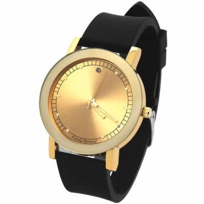 腕時計 アメリカン ジュエリー ヒップホップ Mens Gold/Gold Franco Bernard Fashion Casual Silicone Quartz watches Fr10
