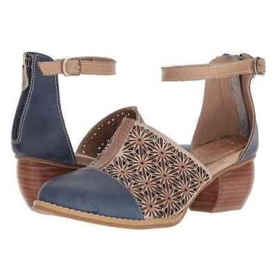 L'Artiste by Spring Step ラーティスト レディース 女性用 シューズ 靴 ヒール Pauletta - Navy Multi