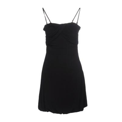 リュー ジョー LIU •JO ミニワンピース&ドレス ブラック 40 95% レーヨン 5% ポリウレタン ミニワンピース&ドレス