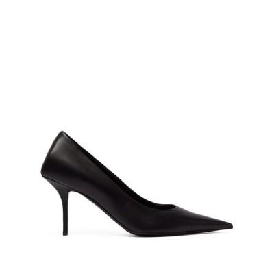 バレンシアガ Balenciaga レディース パンプス シューズ・靴 Square Knife leather pumps Black