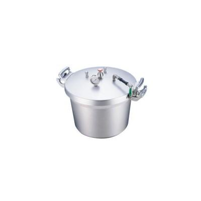 北陸アルミニウム SA アルミ 業務用 圧力鍋 第2安全装置付 40L ホクア
