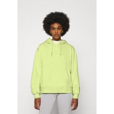 アディダスオリジナルス レディース パーカー・スウェットシャツ アウター HOODIE  - Sweatshirt - semi frozen yellow semi frozen yell