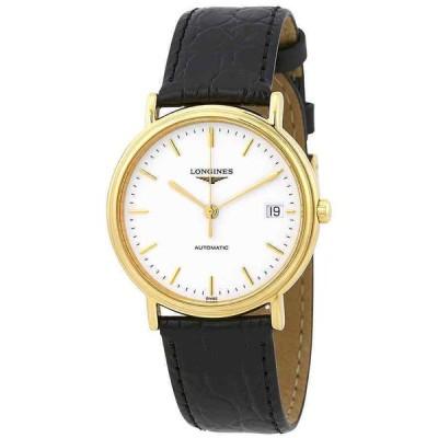 ロンジン 腕時計 Longines Presence Automatic White ホワイト Dial Ladies Watch L4.821.2.12.2