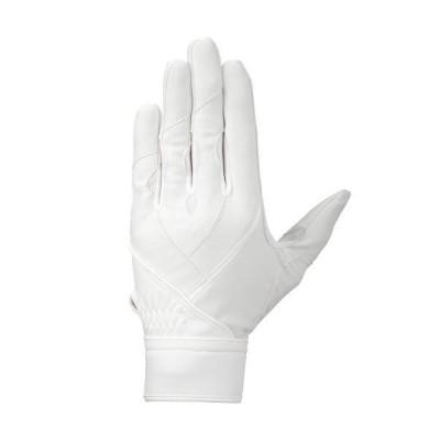 【送料290円】ミズノ グローバルエリート ZeroSpace左手用 高校野球ルール対応モデル ホワイト×ホワイト Mizuno 1EJED240 10
