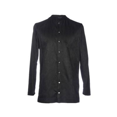 トムレベル TOM REBL シャツ ブラック 46 74% コットン 26% ナイロン シャツ
