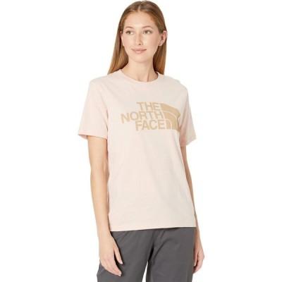 ザ ノースフェイス The North Face レディース Tシャツ トップス Half Dome Cotton Short Sleeve Tee Evening Sand Pink